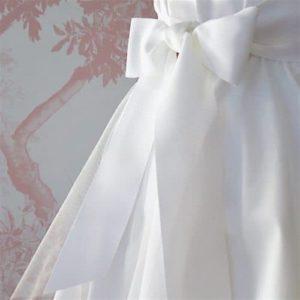 ceinture ruban blanche pour cortège