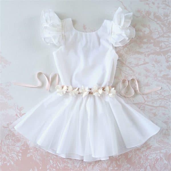 robe blanche cortege