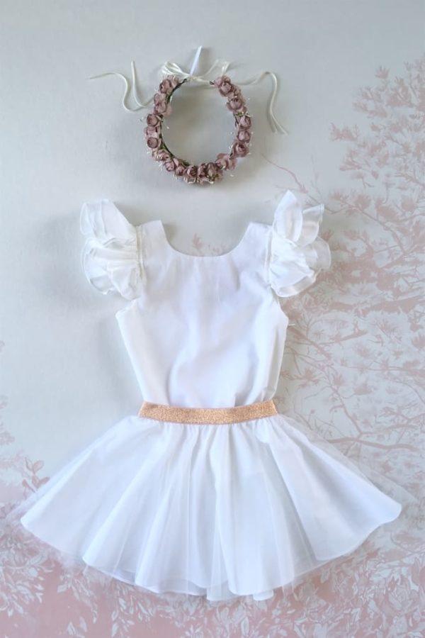 robe-blanche-cortege - couronne