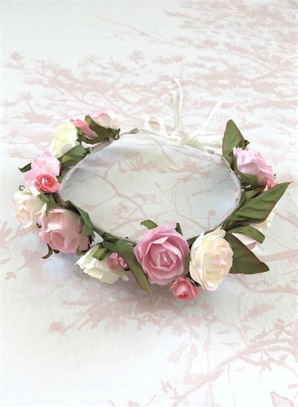 couronne-de-fleurs-roses