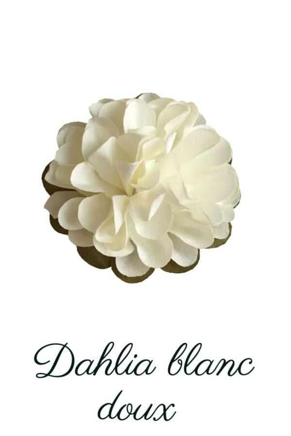 Dahlia en papierblanc doux copie