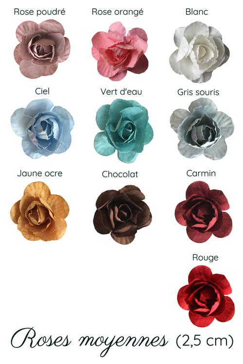 rose moyennes gamme fleur
