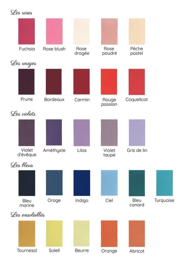 gamme de couleurs MAISON ÈME