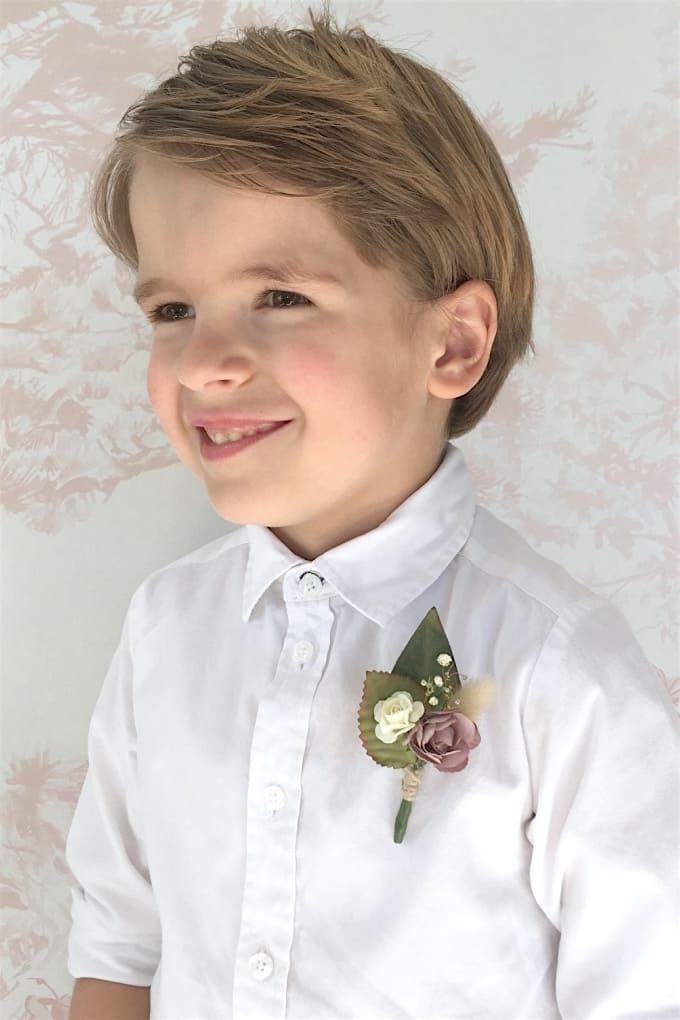 Boutonnière enfant MOYEN modèle