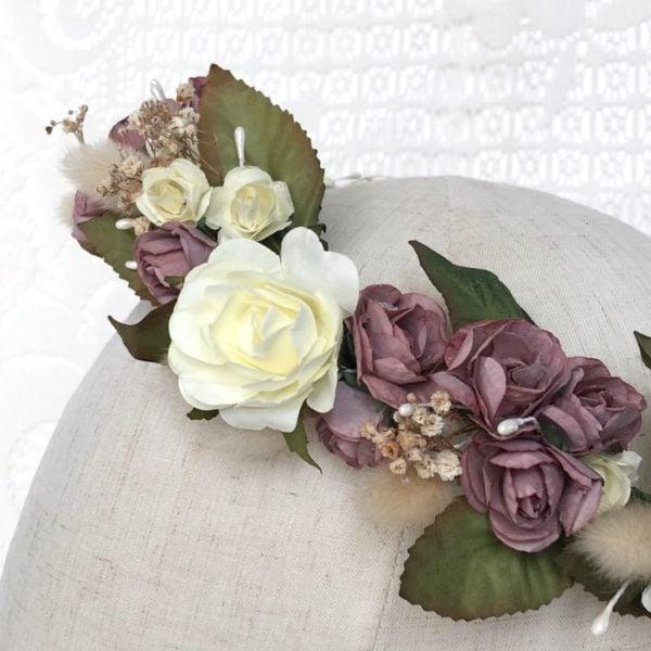 couronne-fleurie-fleurs-sechees-rose