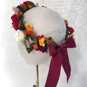 couronne-de-mariage-fleurs-multicolore